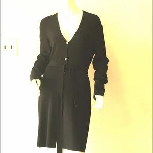 NWT   Ann Taylor Button Down/Tie Waist Dress